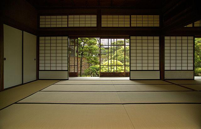 Pasillos y Salas Vacías Japanisches-haus