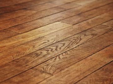 geoelter-Holzboden