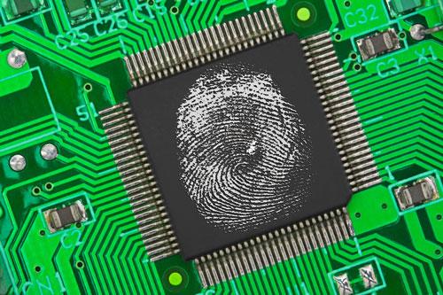 elektronischer-Fingerabdruck