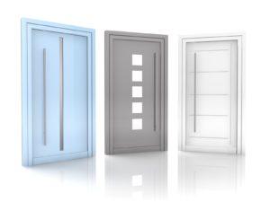 Haustür-Wärmeschutz