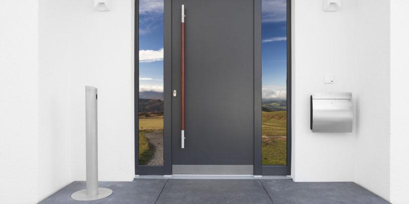 Haustür-Sicherheit-Wärmeschutz
