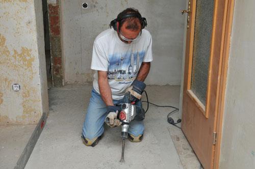 Arbeitssicherheit beim Renovieren ist wichtig