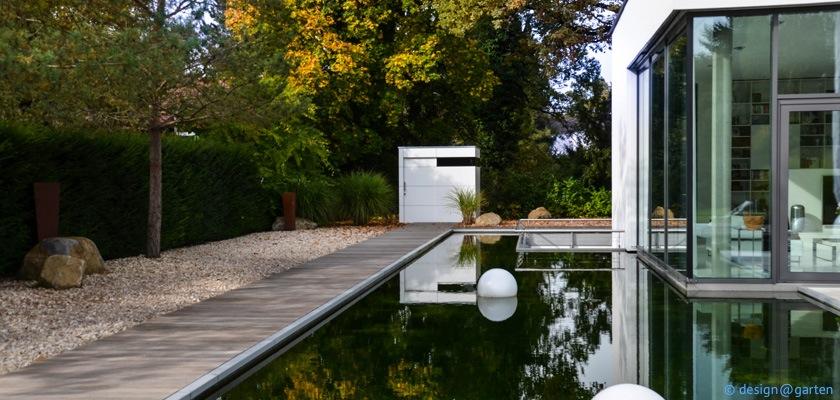 Das ganz besondere Gartenhaus mit Gartenpool …