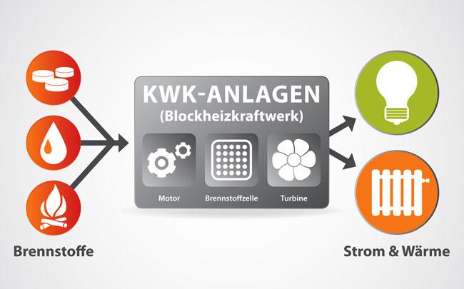 Umweltfreundlich sowie unabhängig Strom und Wärme erzeugen – mit einem Blockheizkraftwerk