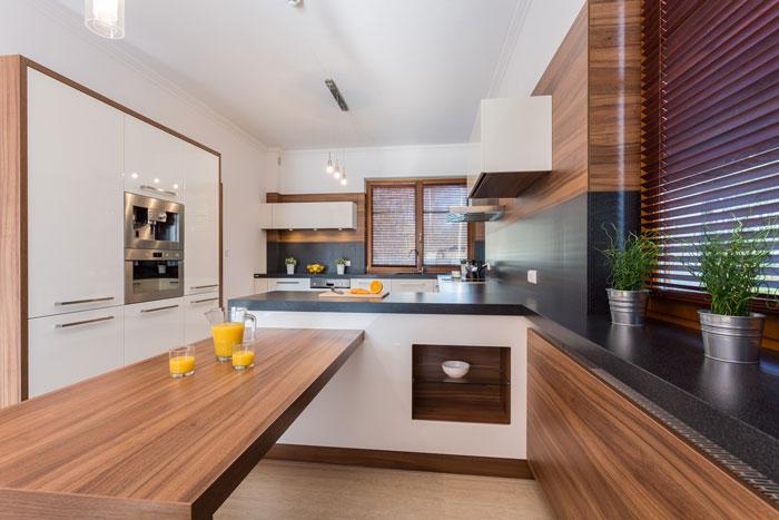 Moderne klassische Küchen sind zeitlose Schönheiten für hohe Ansprüche