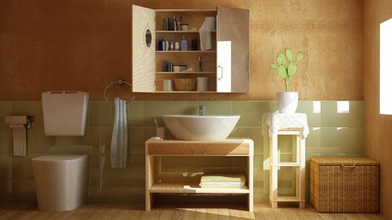 Elegante Badmöbel machen ein Badezimmer erst komplett
