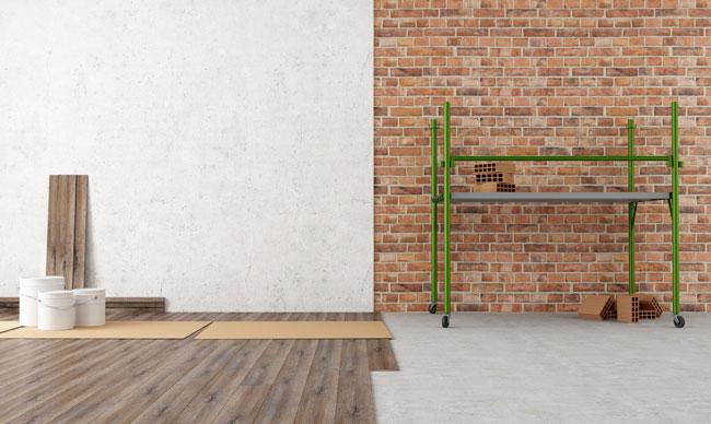 Rollgerüste sind flexible Arbeitshilfen – nicht nur beim Bauen