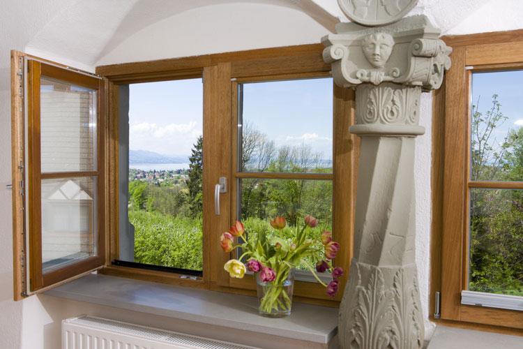 Holzfenster für energisches Bauen – heißt natürlich leben
