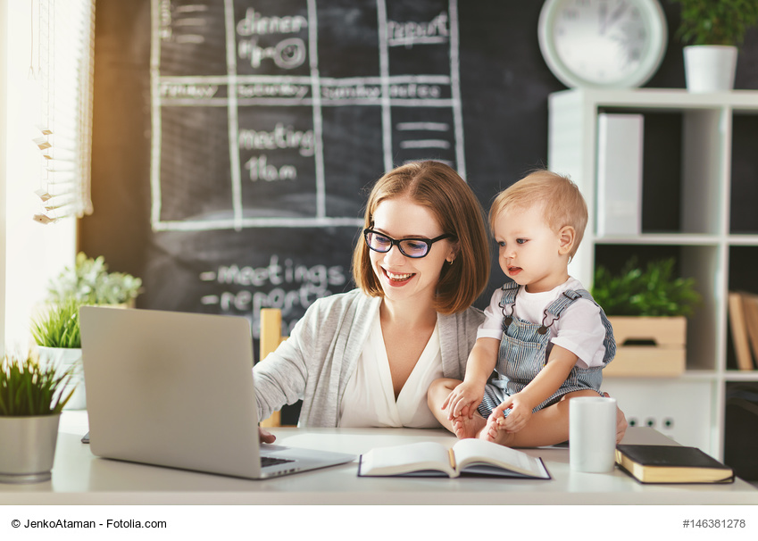 Home Office – das Büro zu Hause einrichten