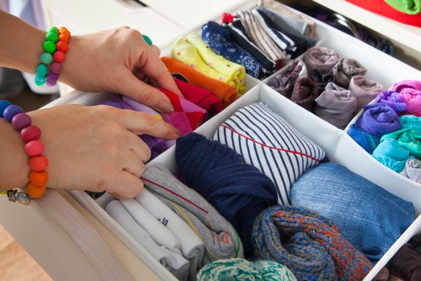 Ordnung im Kleiderschrank ist nur der Anfang