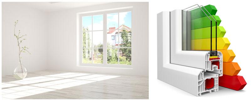 Energiesparen mit neuen Fenstern