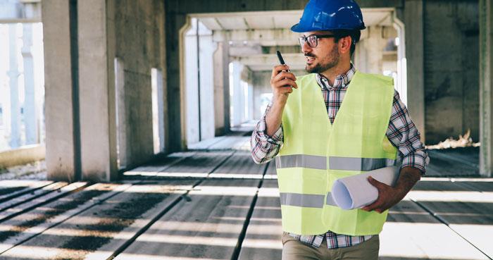 Sicherheit für die Baustelle mit Sicherheitsdienst