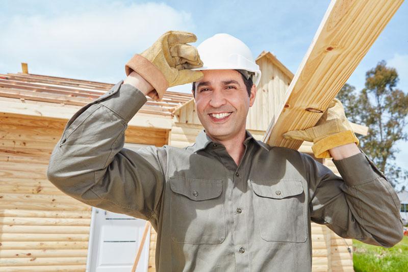 Wenn der Bauherr selber bastelt … Arbeitsschutz geht vor!