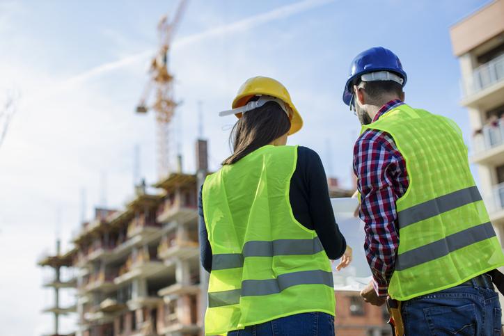 Verletzungsrisiko auf der Baustelle