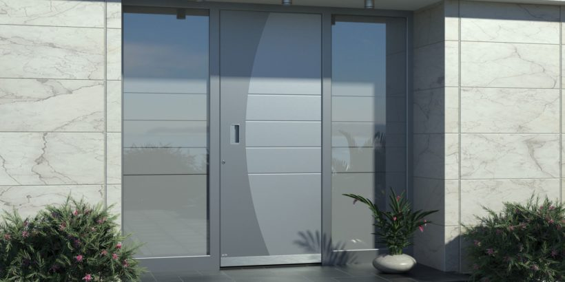 Beliebt Vergleich zur besten Haustür: Kunststoff, Holz vs. Aluminum II27