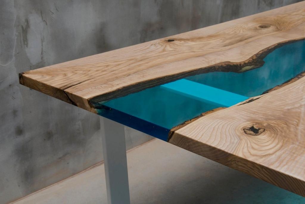 Möbel gestalten mit Epoxidharz