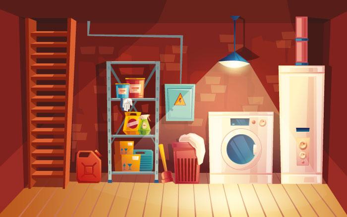 Kleidung, Bücher, Hausrat lagern ohne Schäden und Schimmel