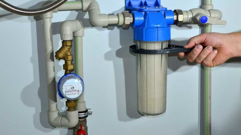 Hauswasserfilter und Wasserenthärtungsanlagen