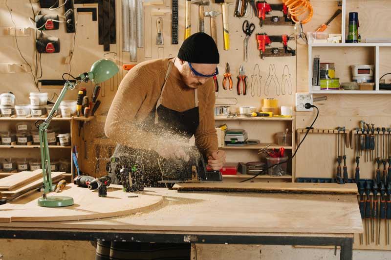 Eigenheim mit eigener Werkstatt für den Bauherren – Tipps und Ideen