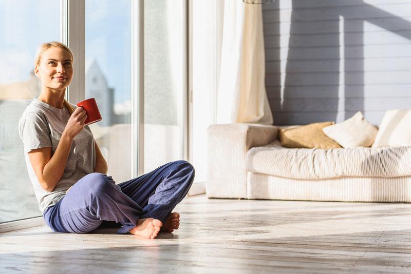 Gesund wohnen – Materialien sind entscheident