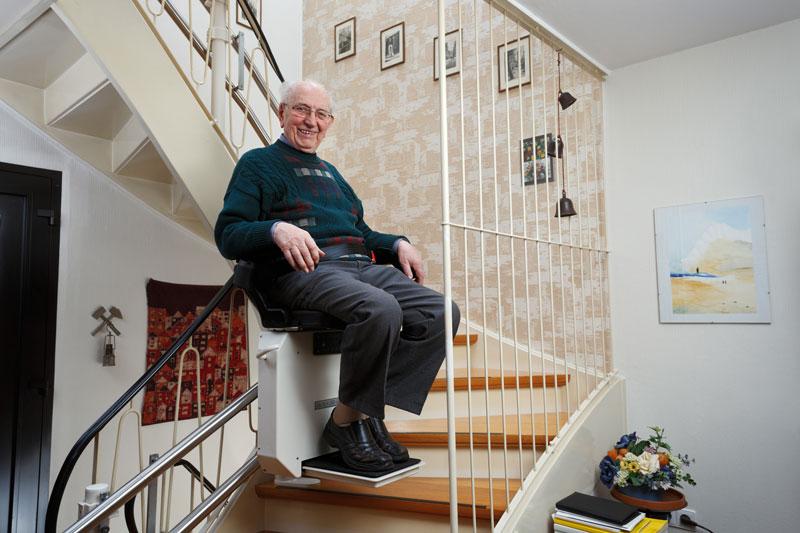 Treppenlift einbauen