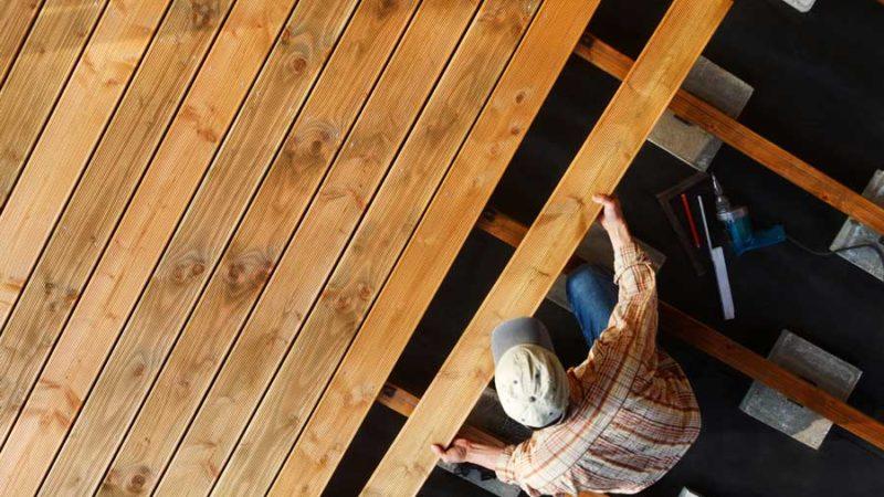 Terrassendielen aus Holz – was gibt es zu wissen